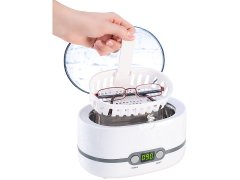 Ultraschall-Reiniger für Schmuck, Besteck, Brillen, 50W