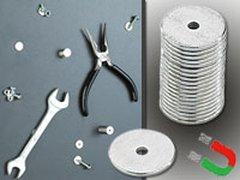 20 Neodym-Scheiben-Magnete
