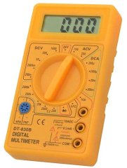 Digitales Handmultimeter mit LCD-Display