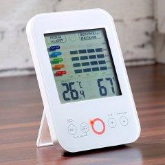 Hygrometer/Thermometer mit Schimmelalarm