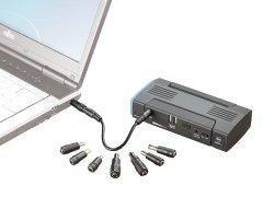 Notebook-PowerBank mit Autostarthilfe