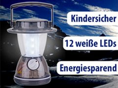 Robuste LED-Laterne mit 12 LEDs
