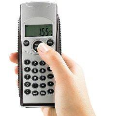 Präziser Ultraschall-Distanzmesser mit Digital-Anzeige