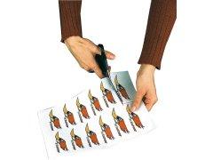 20 Klebefolien für Laserdrucker, A4, weiss, wetterfest