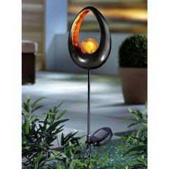 Solar LED Gartenlaterne Fireball