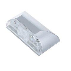 autom. LED-Türbeleuchtung, silber