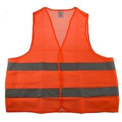 reflektierende Warnweste orange, für Erwachsene