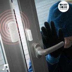 Kabelloser Fensteralarm mit Berührungssensor, 3er-Set