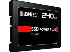 SSD-Festplatte EMTEC PowerPlus, 240 GB
