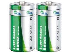 2 Stk. Batterien Baby C