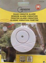 Fensterscheiben-Alarm mit Vibrations-Sensor
