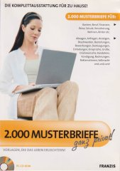 2.000 Musterbriefe ganz privat