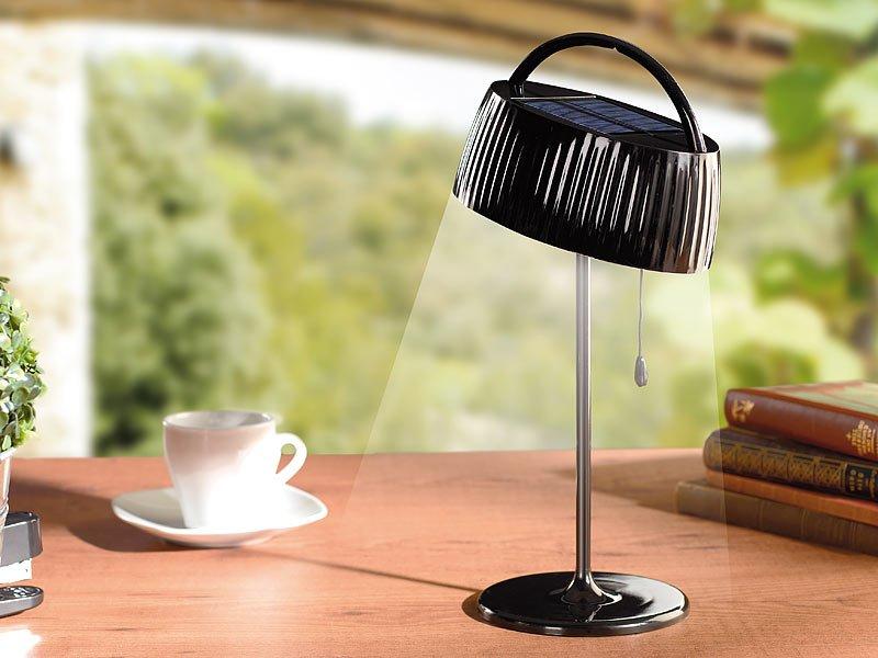 solar tischleuchte. Black Bedroom Furniture Sets. Home Design Ideas