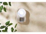 Automatische LED-Leuchte mit Bewegungs- und Dämmerungssensor