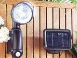 Solarstrahler mit ultraheller 1-Watt-LED und PIR-Bewegungssensor