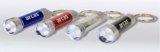 Aluminium 3 LED-Taschenlampe mit Schlüsselanhänger