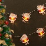 LED-Lichterkette Weihnachtsmänner