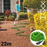 Dehnbarer Gartenschlauch inkl. Brause, 7 auf 22 Meter