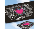 Microfaser-Badetuch 'Love'