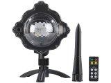 LED-Kugellampe mit Schneefall-Effekt und Ausschalt-Timer
