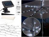 Solar-LED-Sonnenschirm-Lichterkette