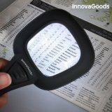 3x Lupe mit LED- und UV-Licht