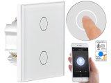 Touch-Doppel-Lichtschalter mit WiFi