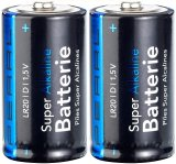 2er-Pack Alkaline-Batterien Typ D Mono