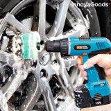 3er-Set Reinigungsbürsten-Aufsatz für Bohrmaschinen