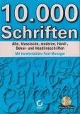 10.000 Schriften inkl. Font-Manager